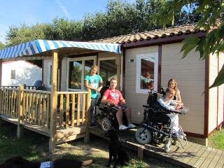 Nice Chalet with Internet Access and Shared Indoor Pool - Saint-Julien-des-Landes vacation rentals