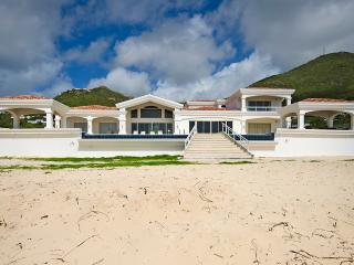 CASA SUNSHINE...spacious beach front villa on Guana Bay, St Maarten - Guana Bay vacation rentals