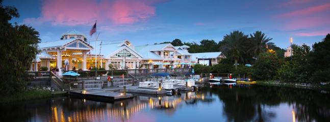 Old Key West Docks - Celebrate at a Disney World on the property Resort - Orlando - rentals