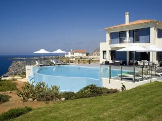 Villa Moon holiday vacation villa rental greece, crete, sea views, pool, near Chania, holiday vacation villa to rent to let greece, - Chania vacation rentals