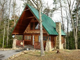 Romantic 1 Bedroom Pigeon Forge Cabin in the Wears Valley Area with Jacuzzi - Sevierville vacation rentals