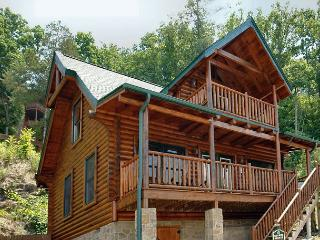 2 Bedroom Luxury Cabin Amazing Mountain View, Wears Valley Pigeon Forge TN - Sevierville vacation rentals