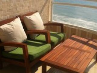 large balcony, direct sea - SeaView, luxury, large, beachfront, dream balcony - Netanya - rentals
