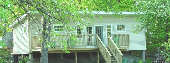 Front view of cottage - Beautiful Muskoka Severn Riverfront cottage - Severn Bridge - rentals