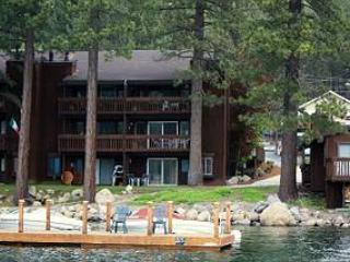Beautiful Condo on Donner Lake with Private Beach - Lake Tahoe vacation rentals