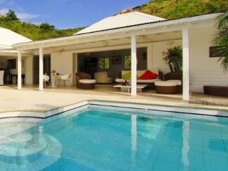 Ylang Ylang at Flamands, St. Barth - Ocean View, Large and Sunny Deck, Tropical Garden - Flamands vacation rentals