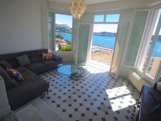 Gorgeous Villa apartment + Sweeping Sea View - Beaulieu vacation rentals