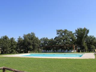 VERDE APARTMENT panoramic gazebo / garden / pool - Ponticino vacation rentals