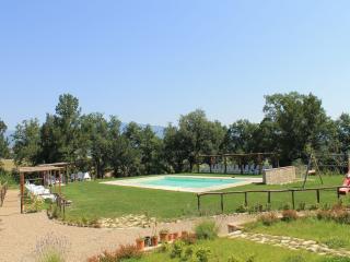 ARANCIONE APARTMENT garden /panoramic gazebo/ pool - Pergine Valdarno vacation rentals