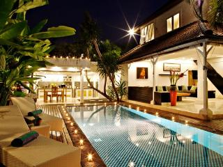 3 BR Lux Pool Villa Ocean Star 1 Oberoi 100m beach - Seminyak vacation rentals