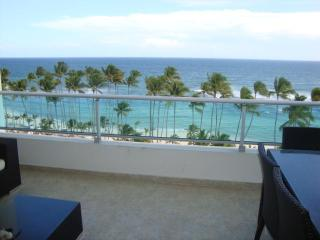 New luxury 7th floor Ocean View Beachfront apartmt - Santo Domingo vacation rentals