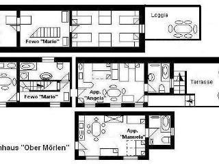 "Haus ""O"", 4 sleeping rooms (2 - 16 persons) - Hesse vacation rentals"
