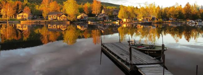 Sunrise on the Gray Ghost Waterfront - Maine Waterfront Cabin Rental with Dock & Kayaks - Rockwood - rentals