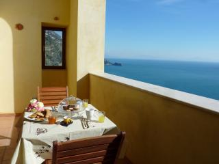 Stylish apartment with open sea view on the Amalfi Coast - Praiano vacation rentals