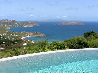 Located on the highest point in Petite Saline. WV AXS - Saint Barthelemy vacation rentals