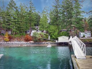 Waterfront Home with Deep Water Dock Privileges! - (Laurel Point) - Friday Harbor vacation rentals