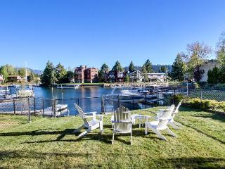 Lakefront home on the Tahoe Keys w/ resort amenities - pool, hot tub, tennis! - South Lake Tahoe vacation rentals