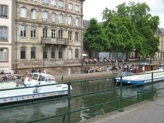 Center of Strasbourg,apartment for 1-5 persons in ground floor - Alsace vacation rentals
