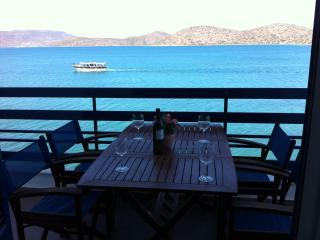 Sea-front, 2-bedroom Apartment (for 5 guests) - Elounda vacation rentals