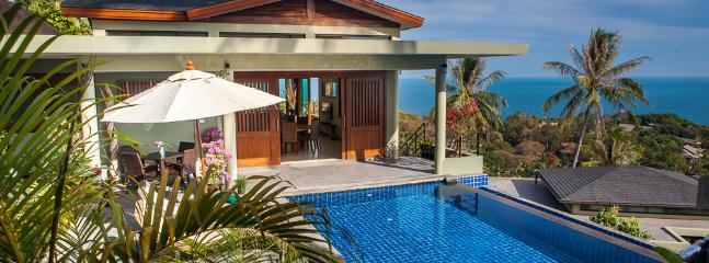 Peaceful and serene setting - Brand New Panoramic Ocean View One Bedroom Villa - Koh Samui - rentals