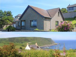 Crow's Nest is a large house with spectacular sea views. - Gardenstown vacation rentals