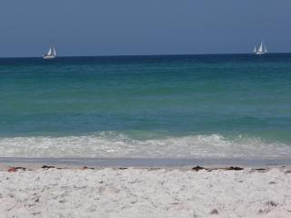Steps to  Beach, Gulf View, Footprints in the Sand - Florida South Central Gulf Coast vacation rentals