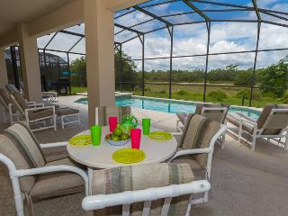 Gated Resort, Stunning, New 7 bedroom Disney Villa, Pool/SPA/Lanai/Wifi/Game Rm - Davenport vacation rentals