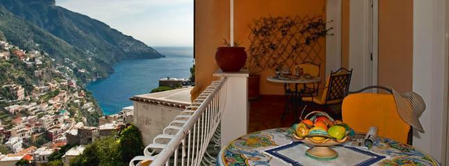 view - Clio apartment in Positano centrally located - Positano - rentals