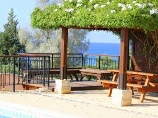 Impressive villa with pool and sea view - Limassol vacation rentals