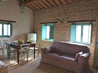 Bio Fattoria Fontegeloni, LA VOLPE E L'UVA, 52 mq - Serra San Quirico vacation rentals