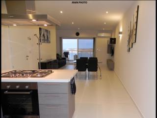 Sea View Luxury 2 Bed Apartment 5 mins Away from Centre and Beach! - Marsascala vacation rentals