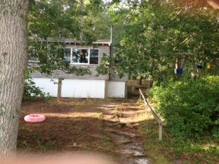 Pond side/front of Cottage   - Serene Pond Setting - Truro - rentals