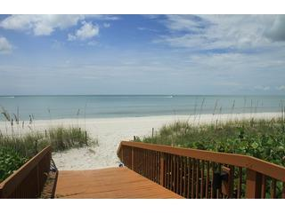 private bridge to beach - Naples Florida Paradise Condo right on the Beach - Naples - rentals
