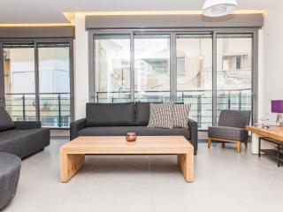 True Luxury, Design, Wood Sun Deck & 3 Min 2 Beach - Tel Aviv vacation rentals