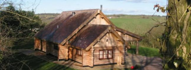 tamaracklodge - Luxurious log cabin on Blackdown Hills Somerset - Chard - rentals