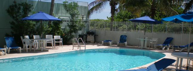 The Pool at the back of the building - 335 OCEAN DRIVE BEACH PAD-SOUTH OF FIFTH - Miami Beach - rentals