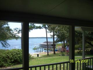 Clear Sandy Beach Lakefront Home on 4 acres - Interlachen vacation rentals