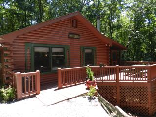 Cedar Cove Cabin: Full log home - Cherry Log vacation rentals
