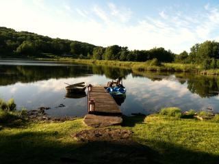 Beautiful LAKE FRONT Log Cabin  - CATSKILLS, NY. - Catskills vacation rentals