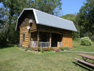 Grandma Liama Cabin. - Llaughing Llama Farm: Grandma Llama Cabin - Boscobel - rentals