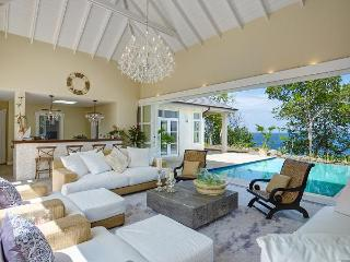 5 bedrooms, 5 bathroom, 2 pools, ridge top villa, path to beach, sunset and sunrise views, 360 views of the Grenadines. (v) - Friendship vacation rentals