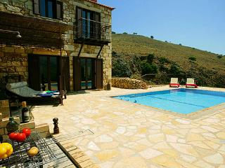 Experience villas Chrysa private with sea views - Chania vacation rentals