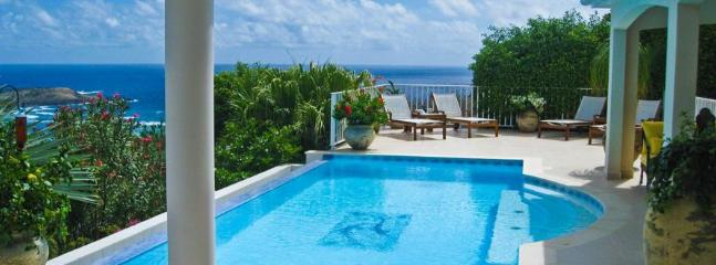 Maracuja at Vitet, St. Barth - Ocean View, Beautiful Garden, Pool - Vitet vacation rentals