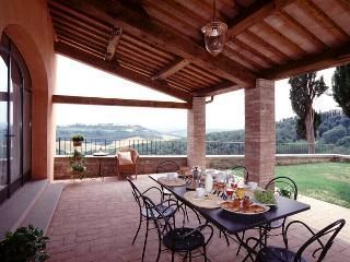 Pleasant Tuscan Apartment on Large Hillside Estate - Il Cortile del Borgo 14 - San Gimignano vacation rentals