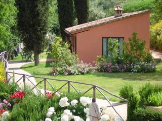 Pleasant Tuscan Apartment on Large Hillside Estate - Il Cortile del Borgo 15 - San Gimignano vacation rentals