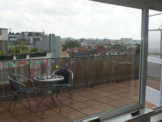 Sunny rooftop apartment in center of Antwerp - Antwerpen vacation rentals