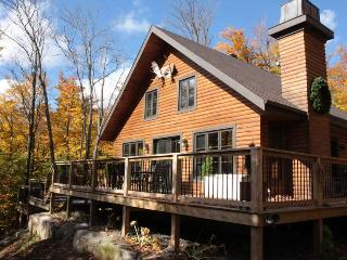 Luxurious 3 levels wooden cottage with spa - Quebec vacation rentals