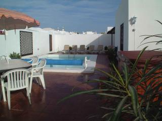 Lovely detached villa situated in Costa Teguise 8 minutes walk beach, less to bars & shops.Playstation and Wi-Fi - Lanzarote vacation rentals