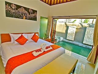 Romantic One Bedroom Villa with Private Pool & jac - Legian vacation rentals