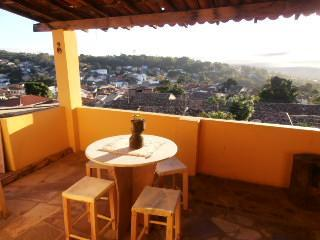 The stunning view from the balcony - Casa de Gabi - Lencois - rentals